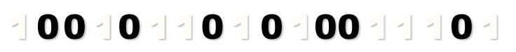 One's and Zero's