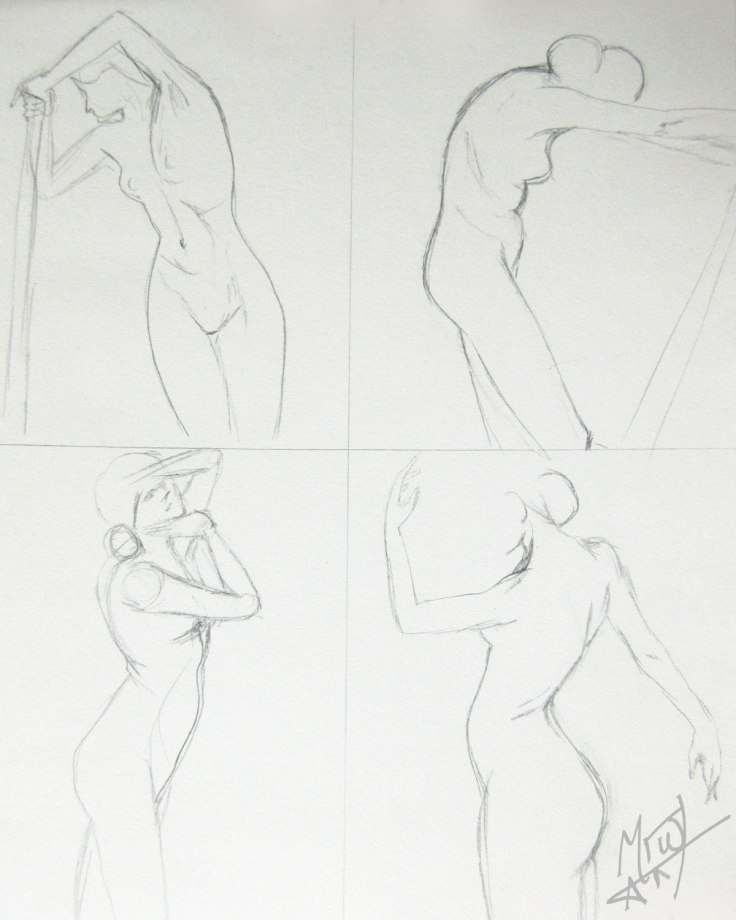 Croquis Cafe Figures 1