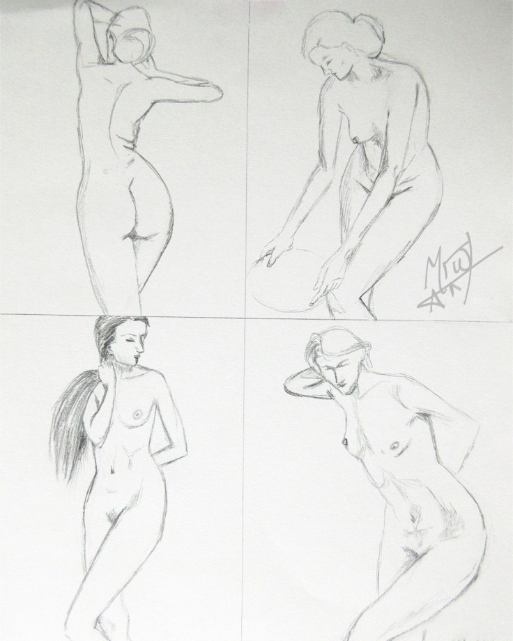 Croquis Cafe Figures 2