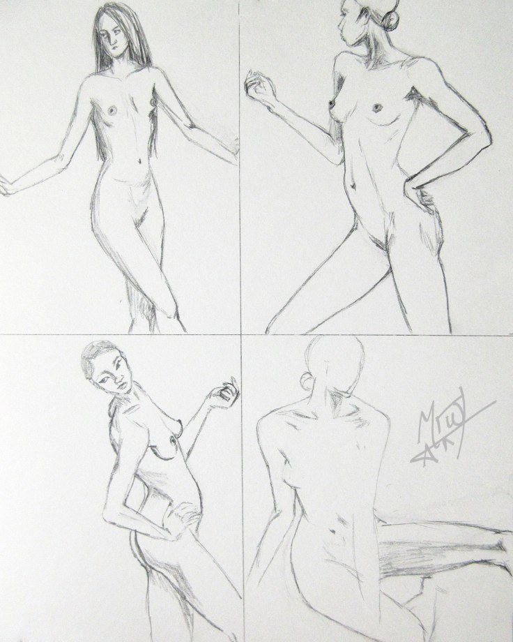 Croquis Cafe Figures 3
