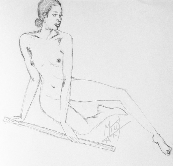 Croquis Cafe Figure Sitting